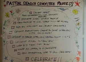 Search Committee Process
